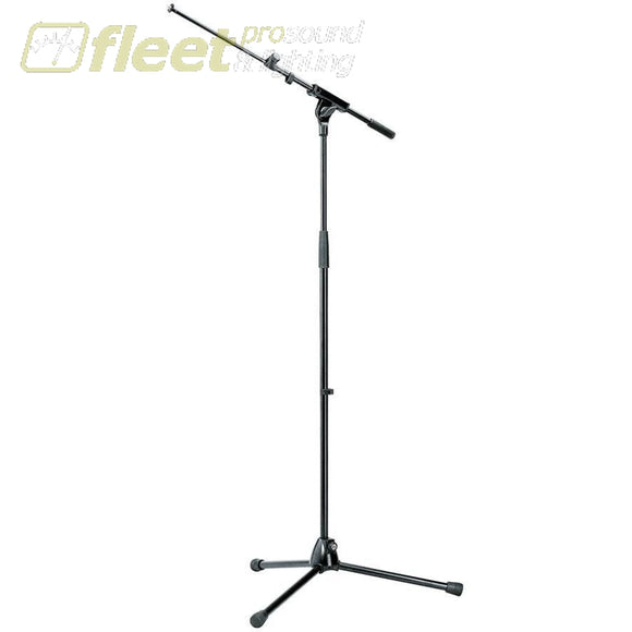 K&m 210/8 Microphone Stand Black Mic Stands