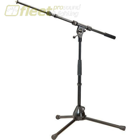 K&m 259 Short Microphone Stand With Boom Mic Stands