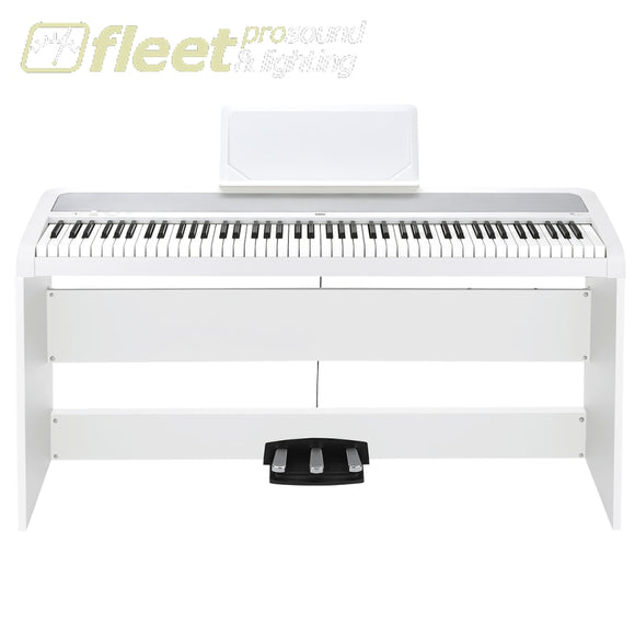 Korg B1Sp-Wh Digital Piano With Stand And 3 Pedals Digital Pianos