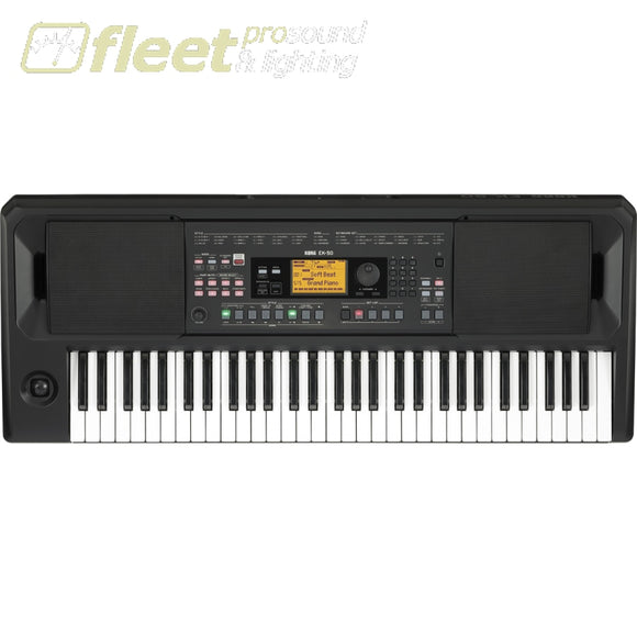 Korg EK50 61-Key Entertainer Keyboard KEYBOARDS & SYNTHESIZERS