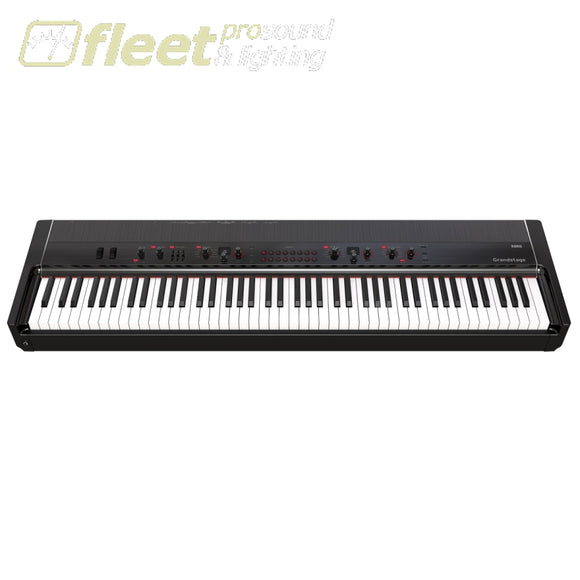 Korg Gs188 Pro Stage Piano With Kronos Sound Engine 73 Key Rh3 Graded Action Digital Pianos