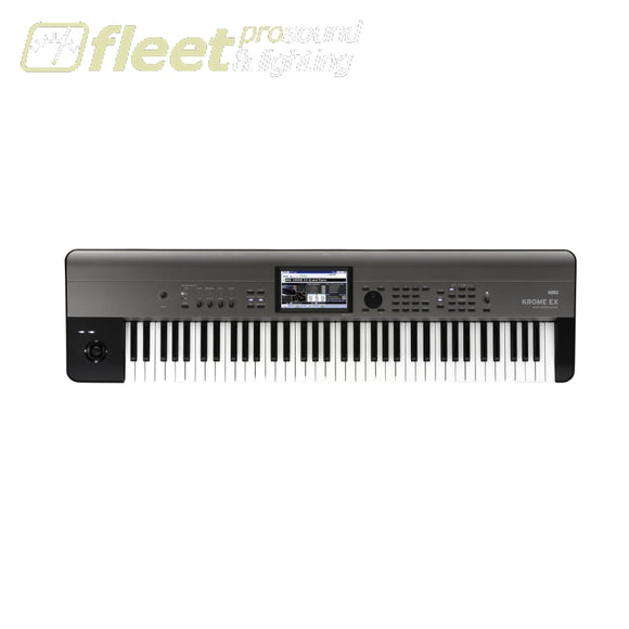 Korg KROME73EX 73-Key Workstation w/ Colour Touchview & USB KEYBOARDS & SYNTHESIZERS
