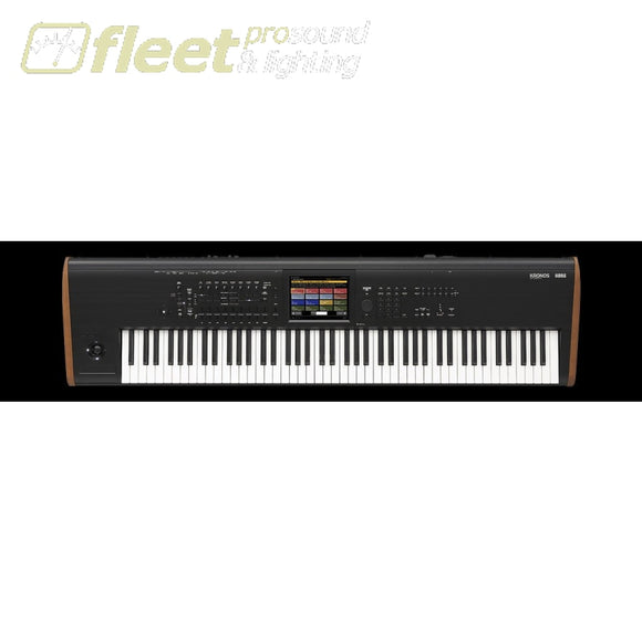 Korg Kronos2-88 88-Key Synth Workstation With Direct Connect With Virtualized Hardware Plug In Keyboards & Synthesizers