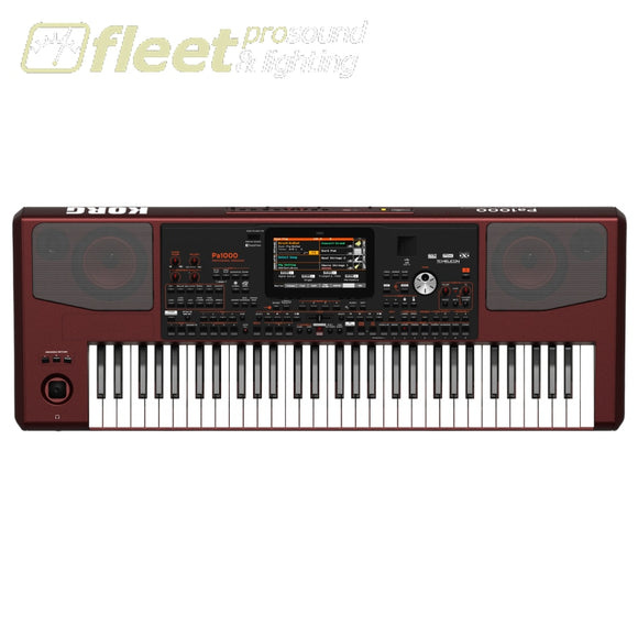 Korg Pa1000 61-Key Professional Arranger Keyboard Digital Pianos
