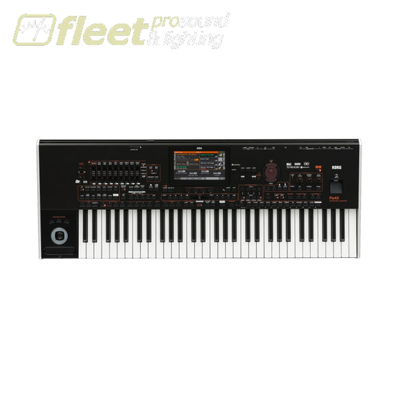 Korg Pa4X-61 61-Key Rx Arranger Keyboard With Touch Screen Keyboards & Synthesizers