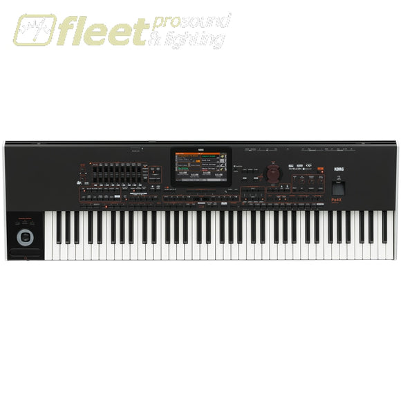 Korg Pa4Xor-76 Oriental 76-Key Semi Weighted Rx Arranger With Touch Screen Keyboards & Synthesizers