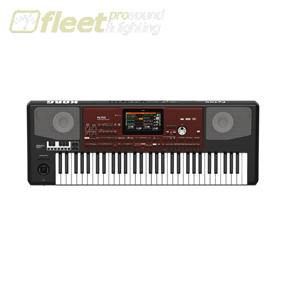 Korg Pa700Or Quarter Tone 61-Key Arranger With Color Touchview Speakers Usb Keyboards & Synthesizers
