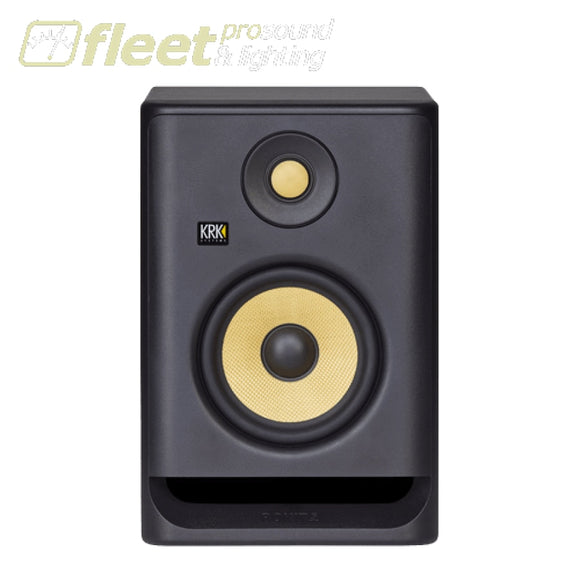 KRK RP5-G4 Active Studio Monitor w/ 5 Woofer & Kevlar Tweeter POWERED STUDIO MONITORS - FULL RANGE