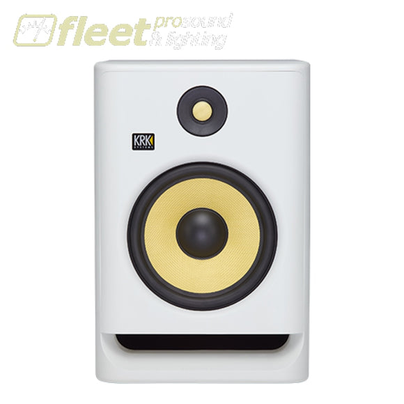 KRK RP5-G4/WN Active Studio Monitor w/ 5' Woofer & Kevlar Tweeter - White Noise Edition POWERED STUDIO MONITORS - FULL RANGE