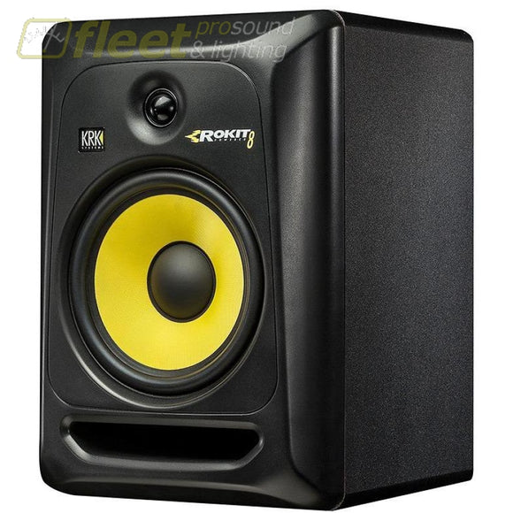 KRK RP8 G3Rokit G3 Powered Monitor POWERED STUDIO MONITORS - FULL RANGE