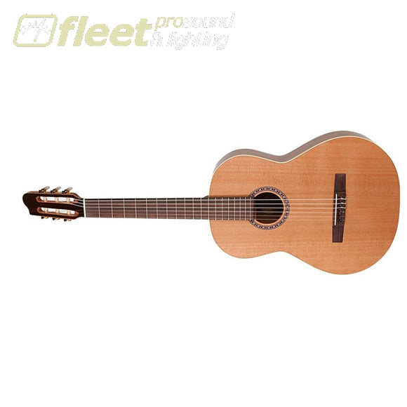 La Patrie Left Handed Q1T Concert Classical Guitar - High Gloss - 046553 Classical Acoustics