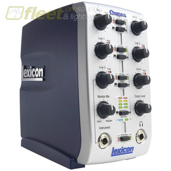 Lexicon Usb Omega Audio Interface Audio Interfaces