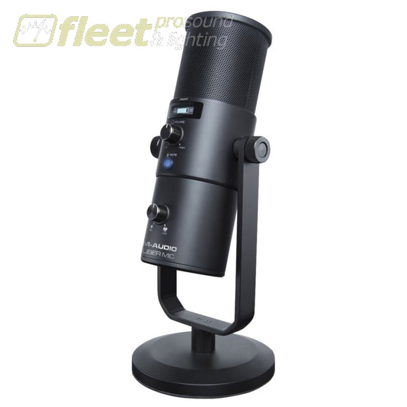 M-Audio Uber Mic USB Microphone with Headphone Output USB MICS