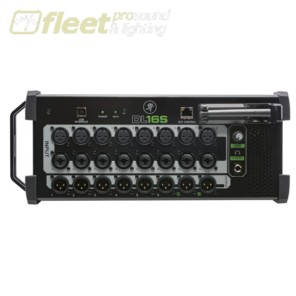 Mackie Dl16S 16-Channel Wireless Digital Live Sound Mixer With Built-In Wi-Fi Digital Mixers