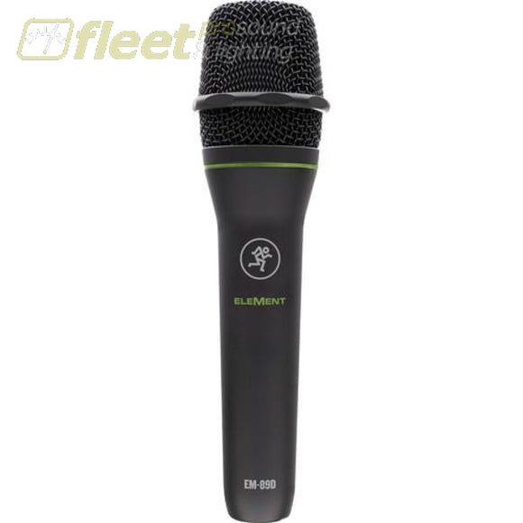 Mackie EM-89D Element Series Dynamic Vocal Microphone VOCAL MICS