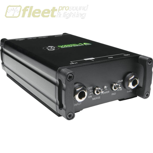 Mackie Mdb-1A Active Stereo Direct Box Di Boxes