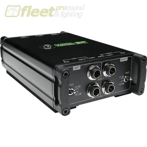 Mackie Mdb-2P Passive Stereo Direct Box Di Boxes