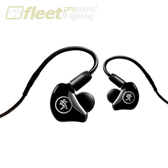 Mackie MP-240 Hybrid Dual Driver In-Ear Headphones IN EAR MONITORS