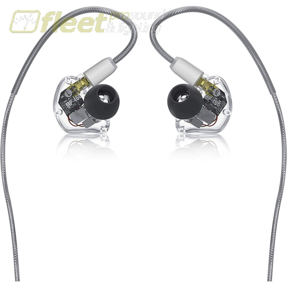 Mackie MP-460 Quad Balanced Armature Professional In-Ear Monitors with Bluetooth Adapter IN EAR MONITORS