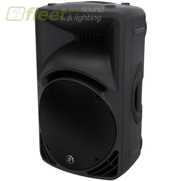 Mackie Srm450V3 Powered Pa Speaker With Mackie Original Cover Full Range Powered Speakers