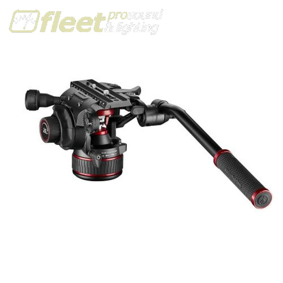 Manfrotto MVH608AH Nitrotech 608 Fluid Video Head With Continuous CBS VIDEO HEAD
