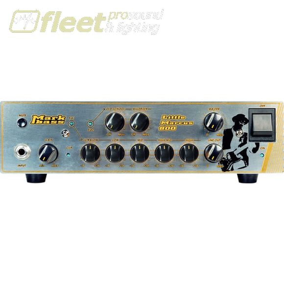 Markbass Little-Marcus-800 800W Bass Head Bass Heads