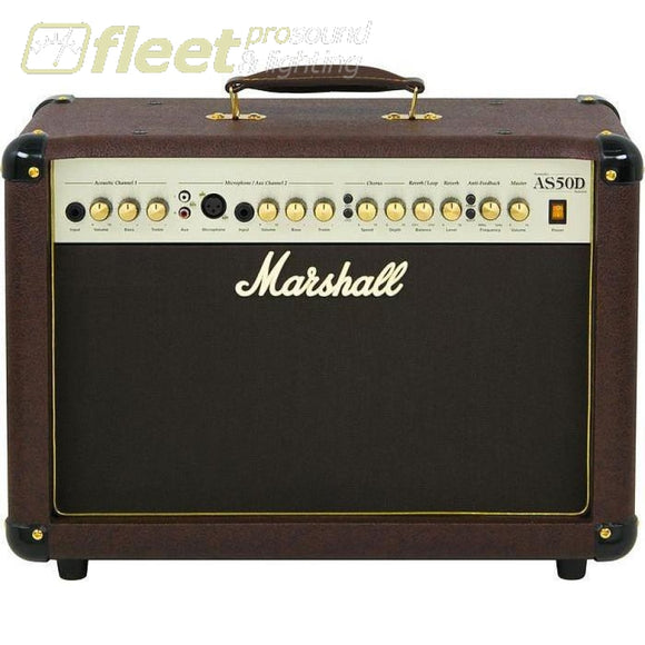 Marshall AS50D 50 Watt Acoustic Combo Amplifier ACOUSTIC AMPS