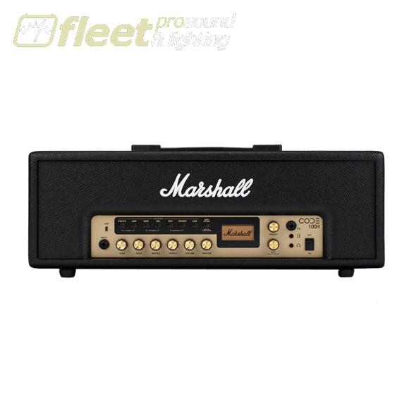 Marshall Code100H 100-Watt Digital Head Guitar Amp Heads