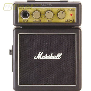 Marshall Ms-2 Micro Amp 1 Watt Guitar Combo Amps