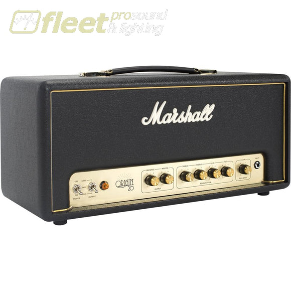 Marshall Ori20H Origin 20 Guitar Amplifier Head With Fx Loop And Boost Guitar Amp Heads