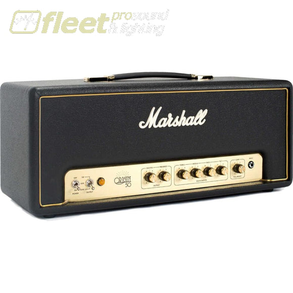 Marshall Ori50H Origin 50 Guitar Amplifier Head With Fx Loop And Boost Guitar Amp Heads
