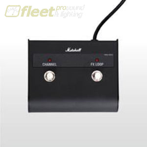 Marshall PEDL90012 2-Way Latching Pedal w/ LEDs FOOT SWITCHES