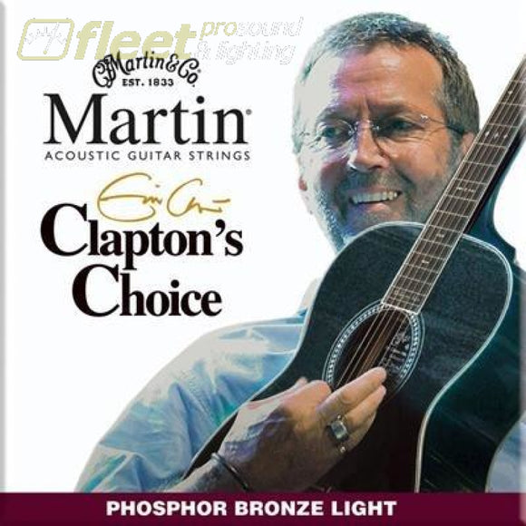 Martin Eric Clapton Signature Acoustic Strings - Mec13 Guitar Strings