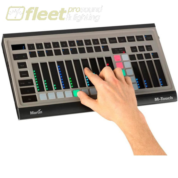 Martin M-Touch With 14 Fsr Faders And 20 Velocity-Controlled Pads Light Boards