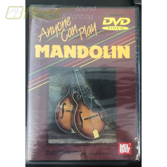 Mel Bay Anyone Can play Mandolin DVD Instructional Video INSTRUCTIONAL DVDS