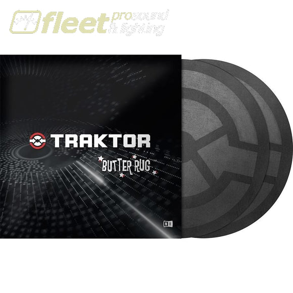 Native Instruments Traktor Butter Rugs 21402 Turntable Accessories