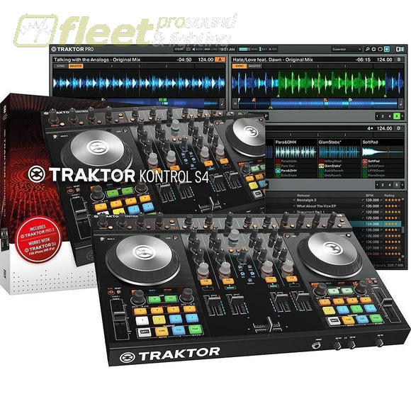 Native Instruments Traktor Kontrol S4 Mk2 22400 DJ INTERFACES