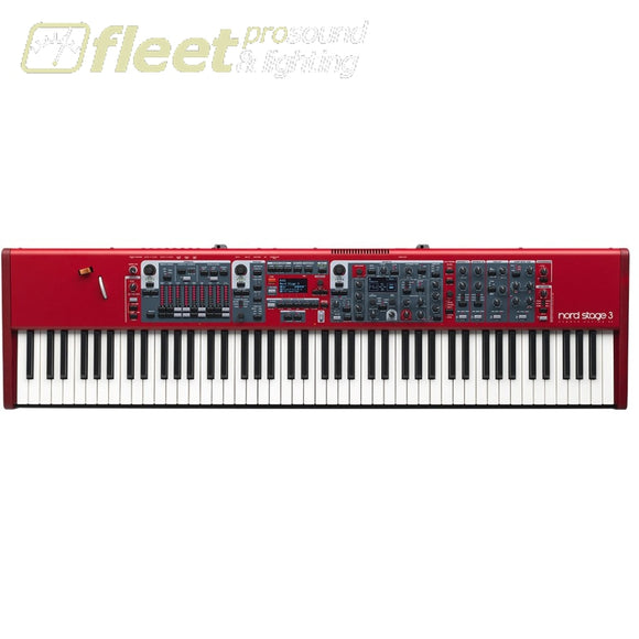 Nord Stage 3 88 - 88-Note Weighted Hammer Action Keybaord Keyboards & Synthesizers