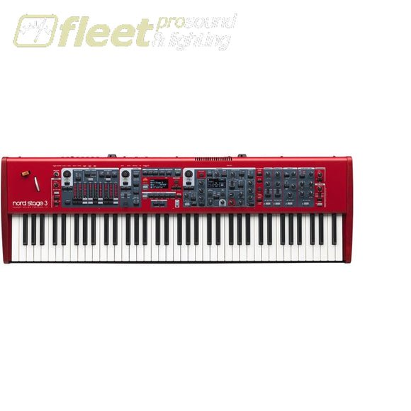 Nord Stage 3 Hp76 - 76-Note Hammer Action Portable Keyboard Keyboards & Synthesizers