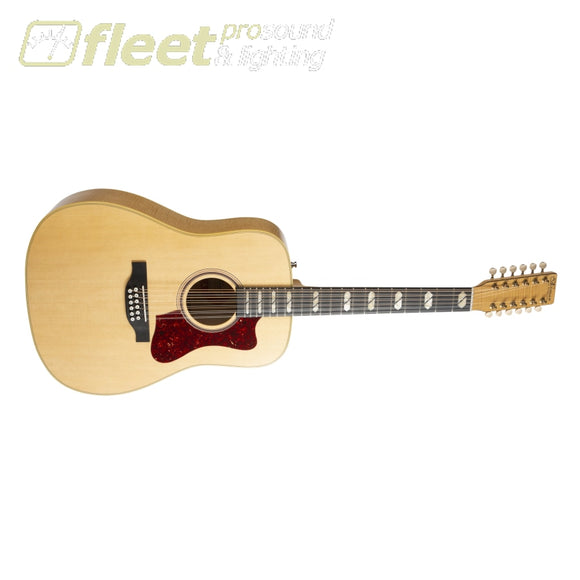 Norman 048540 B50 12-String Acoustic Electric Guitar w/ Tric Case - Natural 12 STRING ACOUSTICS