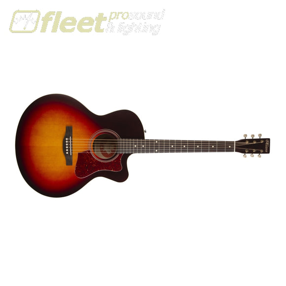 Norman 048571 B18 CW Mini Jumbo 6-String Acoustic Guitar- Cherryburst 6 STRING ACOUSTIC WITH ELECTRONICS