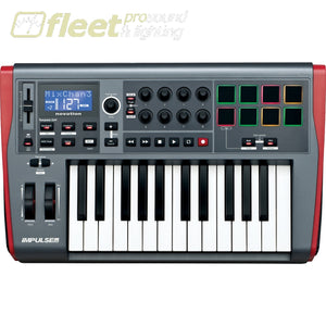 Novation Impluse 25 Precision Keyboard With Instant Mapping Midi Controller Keyboard