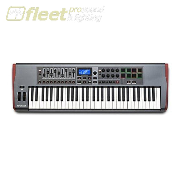 Novation Impluse 61 Precision Keyboard With Instant Mapping Midi Controller Keyboard