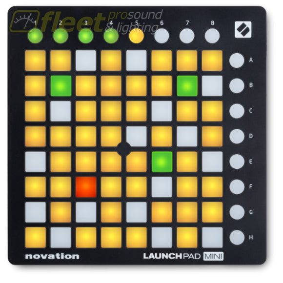 Novation Launchpad Mini Mk2 Compact Usb Grid Controller And Grid Instrument Pad Controllers