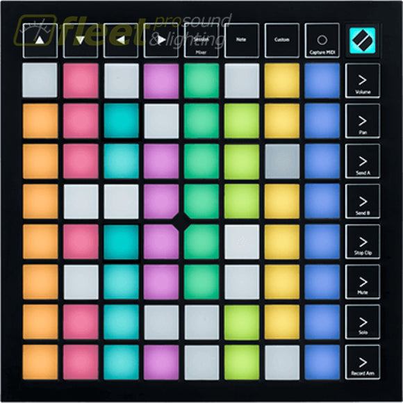 Novation LaunchpadX 64-pad MIDI grid controller for Ableton Live DAW CONTROL SURFACES