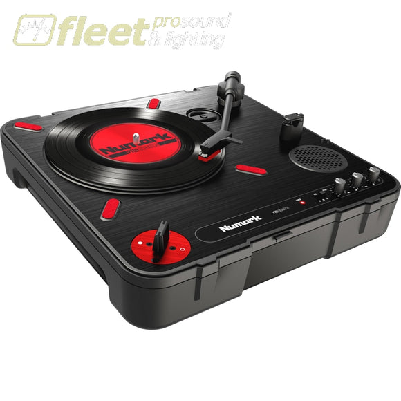 Numark PT01 Scratch - Portable Turntable with DJ Scratch Switch BELT DRIVE TURNTABLES