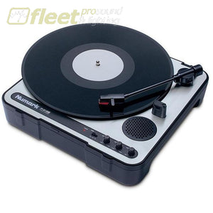Numark Pt01Usb Portable Vinyl-Archiving Usb Turntable Belt Drive Turntables