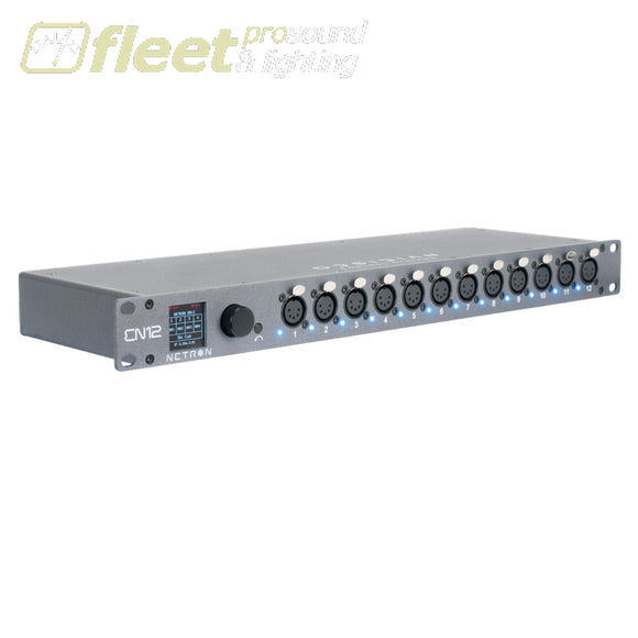 Obsidian EN12 Ethernet to DMX Gateway DMX DISTRIBUTION