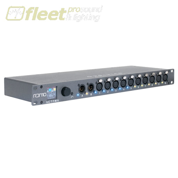 Obsidian RDM10 10 Port DMX/RDM Splitter DMX DISTRIBUTION
