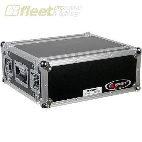 Odyssey Frer4 4Ru Effects Rack Case -Flight Ready Rack Cases